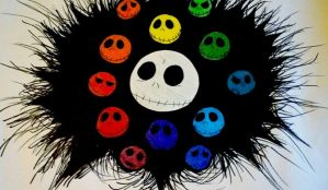 Jack Skellington Color Wheel by Monstrositynumba8