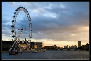 A View Across the Thames by george-kay