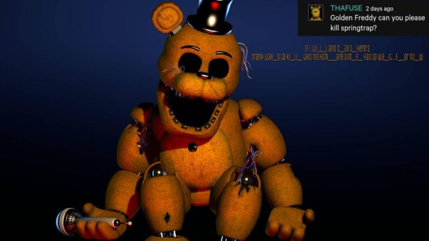 [Ask The Animatronics] #3 Time Will Wait by Delirious411