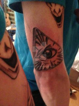 The All Seeing Eye Tattoo by AngryPIG