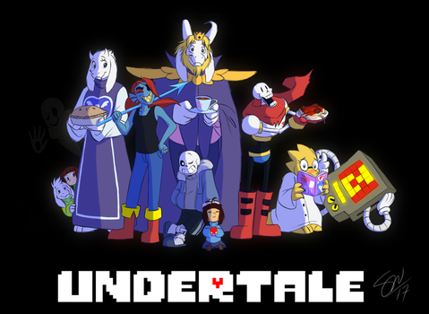 Undertale Crew - redraw by TC-96