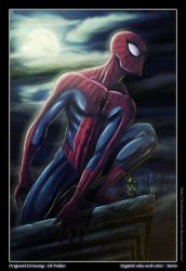 Spiderman by diabolumberto