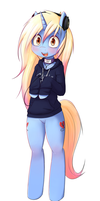 Another pony commish by t-Hoodie