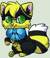 Bee cat - OTA - CLOSED by Cindy-Adoptables