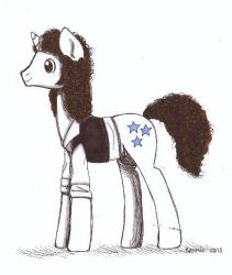 Brian May Ponified by himeronnie