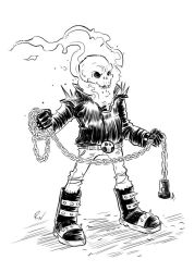 Ghost-rider by bustrucket