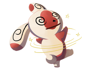 Spinda used Teeter Dance! by DragonchildX