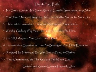 The 8-Fold Path by Pooleside