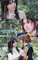Rinoa and Squall dance comic by LauzLanille