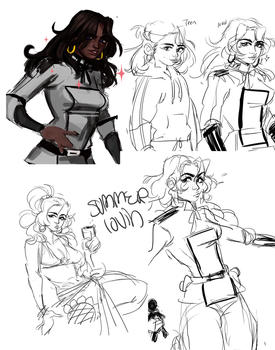Sketch Dumps Salma by Weepy-chan