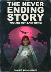 Neverending Story Poster by argonOracle