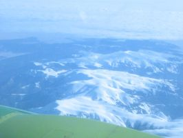Stara planina from the air by Agarvaen