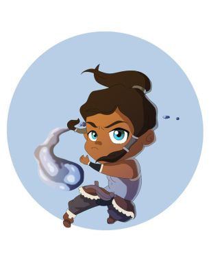 Chibi Korra Colored by Vonny88