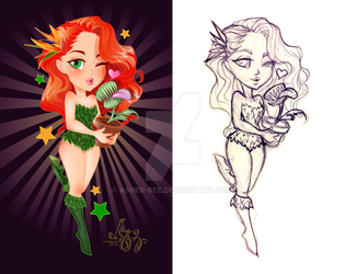 Super Cuties: Poison Ivy by Asher-Bee