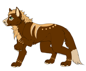[Sold: Auction $1 ] Male Wolgan [Closed Species] by JessiyWolf