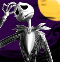 Jack Skellington by crumblygumbly