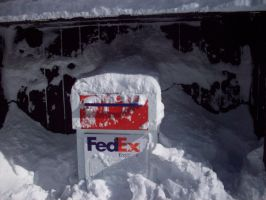 Snowpocolypse '11 Mail Trouble by HeavensChaos