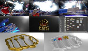 Manny Pacquiao P4P GOAT by marblegallery7
