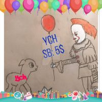Halloween Special Pennywise YCH