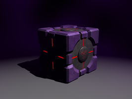 not so companion cube by portal-club