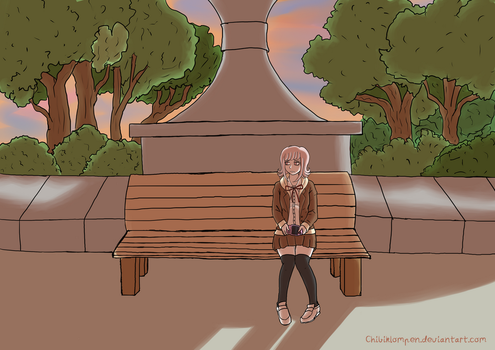 Waiting by Chibiklompen