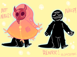 Henric the Mocchi [ species ] by devildads