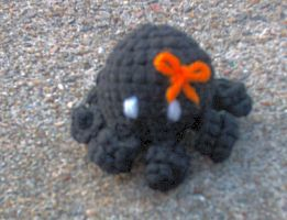 Halloween Mini Octopus by couldvebeendifferent