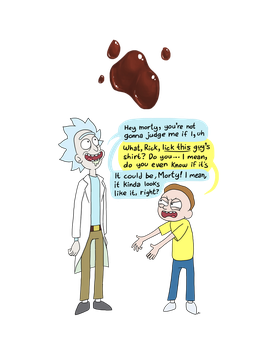 WeLoveFine Rick and Morty Contest Entry 1 by DocWario