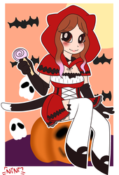 ~Little red riding hood by Nini-the-inkling