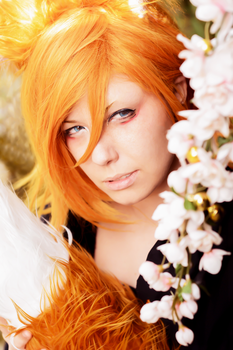 .:Demon Fox Ren . Uta no Prince-Sama:. by Manon-Blutsanguen
