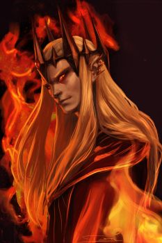 Sauron the Deceiver by toherrys