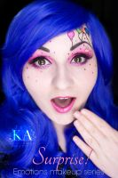 Emotions Makeup Series: Surprise! by KatieAlves