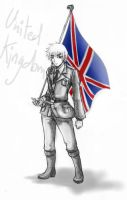 Sketch - APH_The Royal Knight by LuCiFelLo