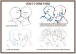 How to draw a kiss by SeductionParade