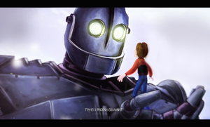 The Iron Giant [fanart] by everensce-re