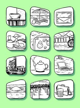 Icons for architecture study by t-drom