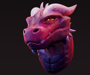 Dragon Head by K4VE
