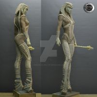 Creacion  propia - Cobra -2 by rieraescultura-art