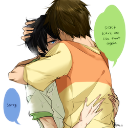 Free!: WE'RE LIKE BROTHERS ONLY CLOSER by tofumi