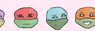 Turtle Heads by PipingPringle