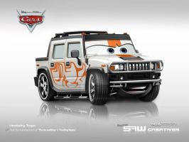 Hummer H2 - disney cars TORQAE by yasiddesign
