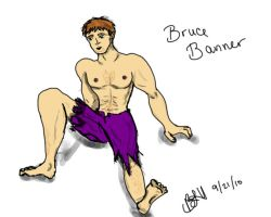Pin-Up: Bruce Banner by FlashBats
