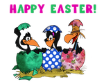 Happy Easter by Granitoons