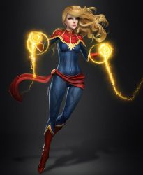Captain Marvel by AnubisDHL