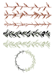 Crown Of Thorns Brush - FREE by Emberblue