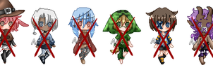 Smol Chibis batch 3 :closed: by Deadly-Deviant