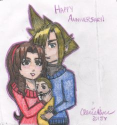 Happy Anniversary by cleris4ever