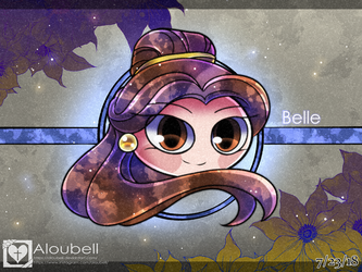 Disney Royalty, Belle by Aloubell