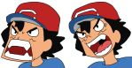 Ash's Sun And Moon Funny Faces by GEORDINHO