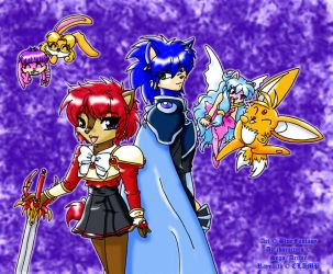 Magic Knight Raymobius by Bound-For-Freedom